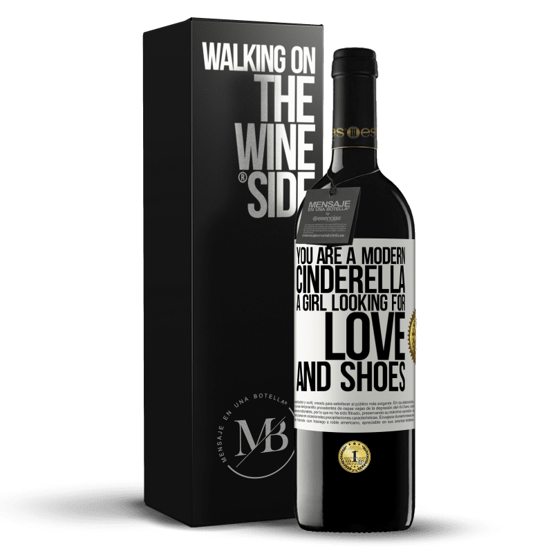 24,95 € Free Shipping | Red Wine RED Edition Crianza 6 Months You are a modern cinderella, a girl looking for love and shoes White Label. Customizable label Aging in oak barrels 6 Months Harvest 2018 Tempranillo