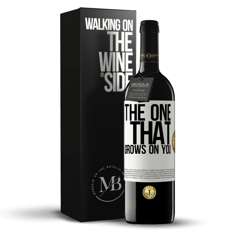 24,95 € Free Shipping   Red Wine RED Edition Crianza 6 Months The one that grows on you White Label. Customizable label Aging in oak barrels 6 Months Harvest 2018 Tempranillo