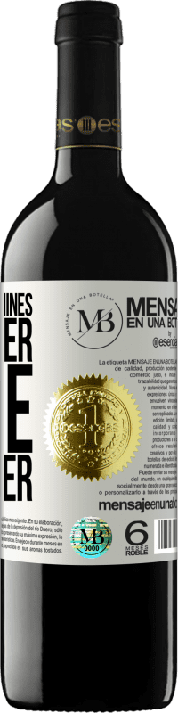«Thousand machines can never make a flower» RED Edition Crianza 6 Months