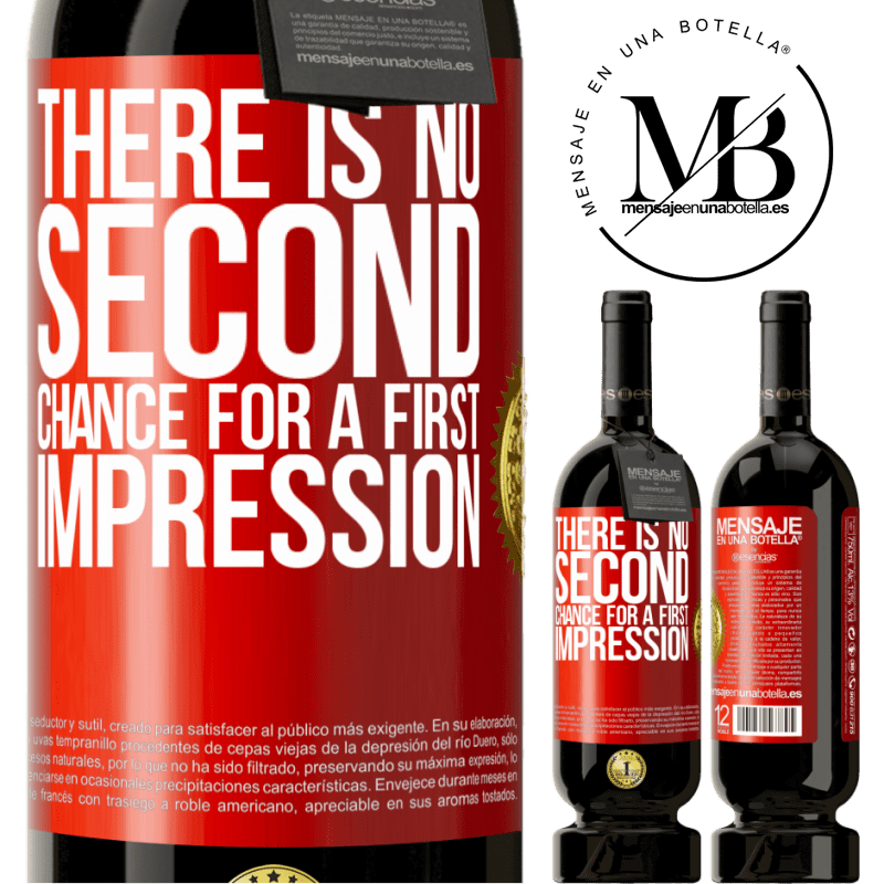 29,95 € Free Shipping   Red Wine Premium Edition MBS® Reserva There is no second chance for a first impression Red Label. Customizable label Reserva 12 Months Harvest 2013 Tempranillo