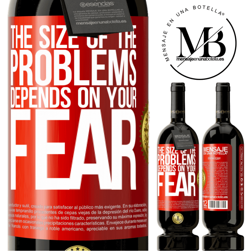 29,95 € Free Shipping | Red Wine Premium Edition MBS® Reserva The size of the problems depends on your fear Red Label. Customizable label Reserva 12 Months Harvest 2013 Tempranillo