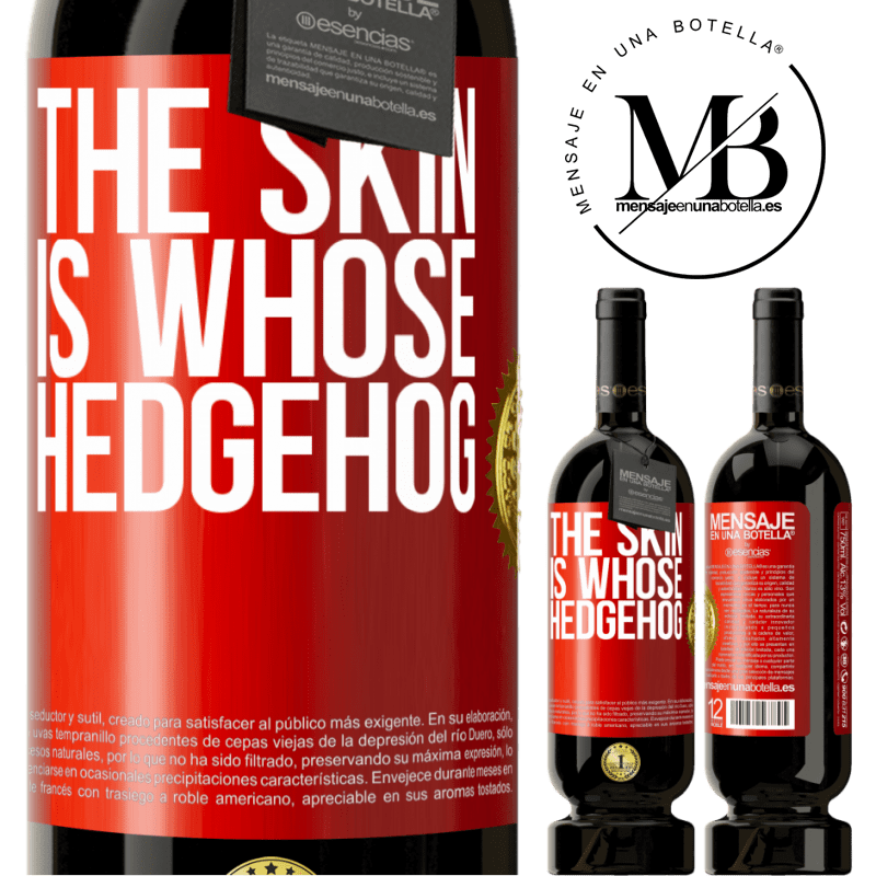 29,95 € Free Shipping | Red Wine Premium Edition MBS® Reserva The skin is whose hedgehog Red Label. Customizable label Reserva 12 Months Harvest 2013 Tempranillo