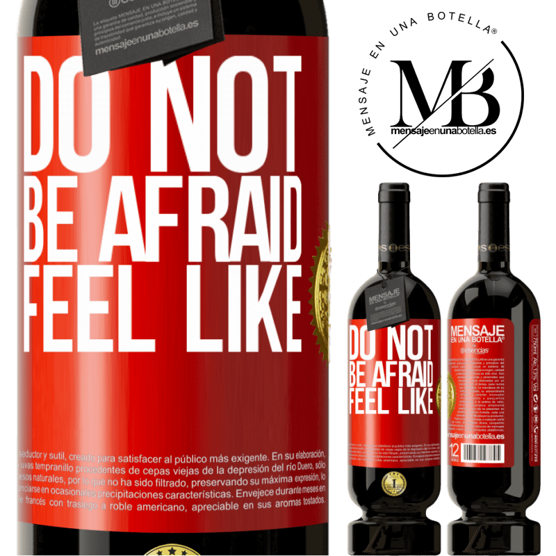 29,95 € Free Shipping | Red Wine Premium Edition MBS® Reserva Do not be afraid. Feel like Red Label. Customizable label Reserva 12 Months Harvest 2013 Tempranillo