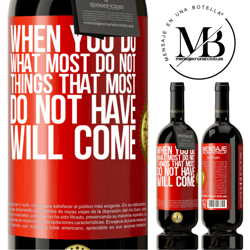 29,95 € Free Shipping | Red Wine Premium Edition MBS® Reserva When you do what most do not, things that most do not have will come Red Label. Customizable label Reserva 12 Months Harvest 2013 Tempranillo