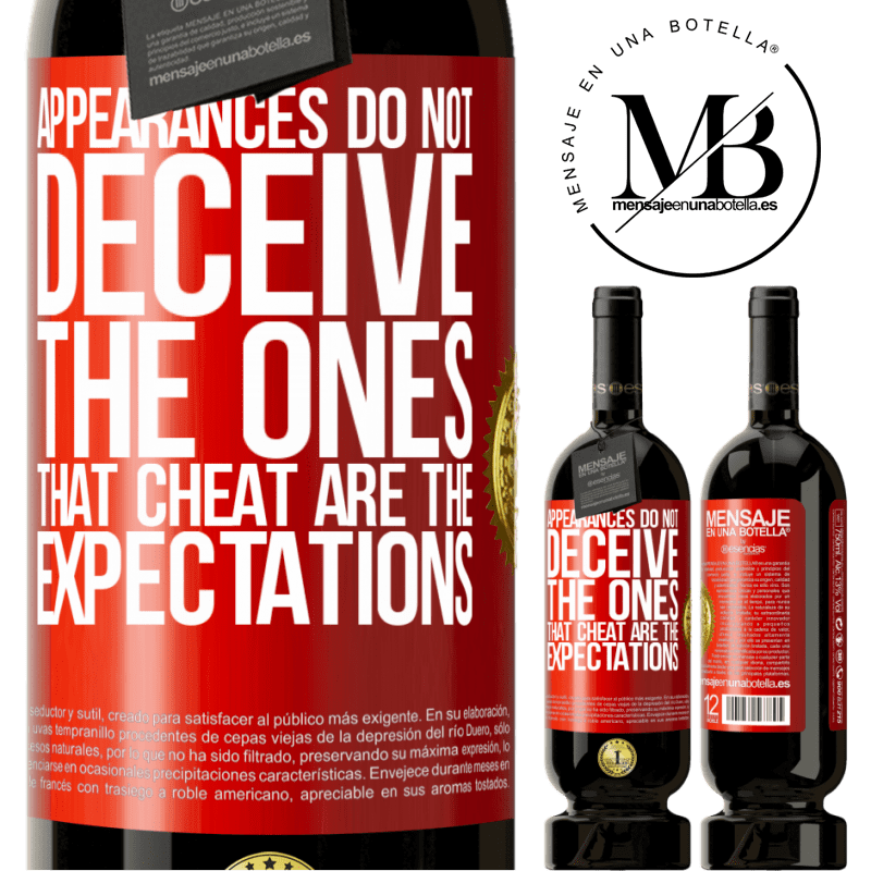 29,95 € Free Shipping | Red Wine Premium Edition MBS® Reserva Appearances do not deceive. The ones that cheat are the expectations Red Label. Customizable label Reserva 12 Months Harvest 2013 Tempranillo