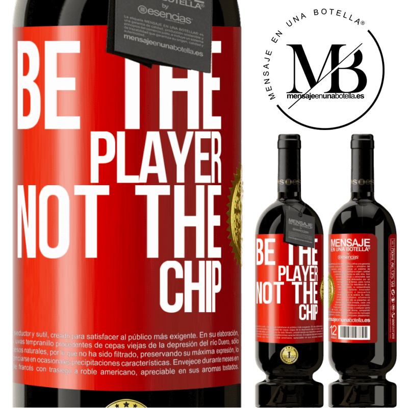 29,95 € Free Shipping | Red Wine Premium Edition MBS® Reserva Be the player, not the chip Red Label. Customizable label Reserva 12 Months Harvest 2013 Tempranillo
