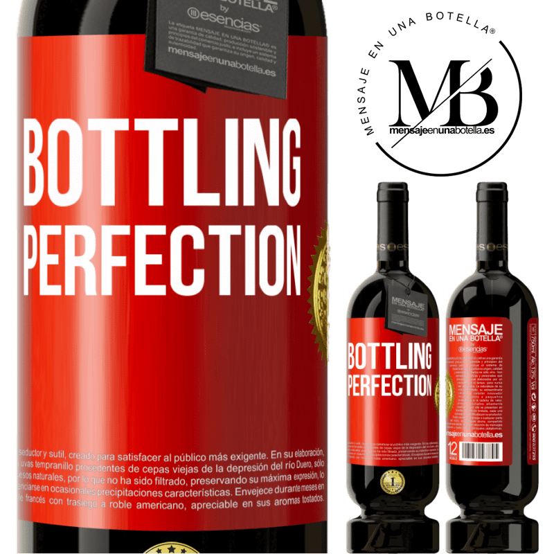 29,95 € Free Shipping | Red Wine Premium Edition MBS® Reserva Bottling perfection Red Label. Customizable label Reserva 12 Months Harvest 2013 Tempranillo