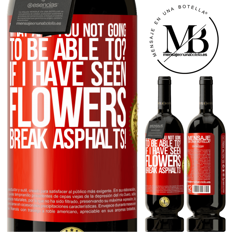 29,95 € Free Shipping | Red Wine Premium Edition MBS® Reserva what are you not going to be able to? If I have seen flowers break asphalts! Red Label. Customizable label Reserva 12 Months Harvest 2013 Tempranillo