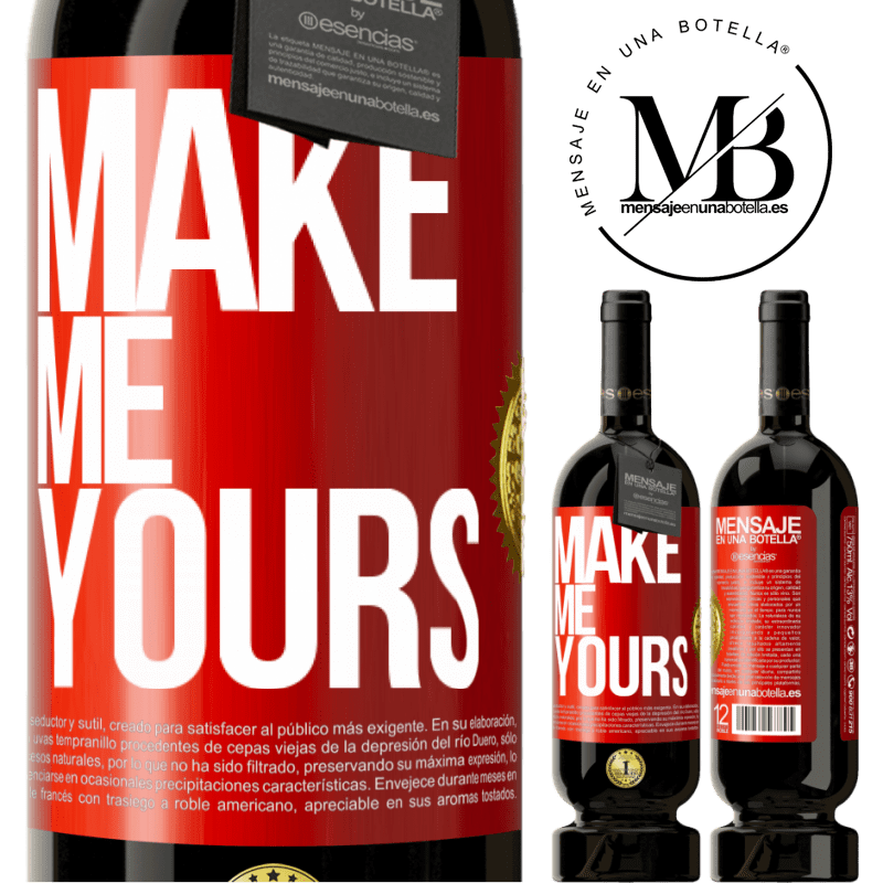 29,95 € Free Shipping | Red Wine Premium Edition MBS® Reserva Make me yours Red Label. Customizable label Reserva 12 Months Harvest 2013 Tempranillo