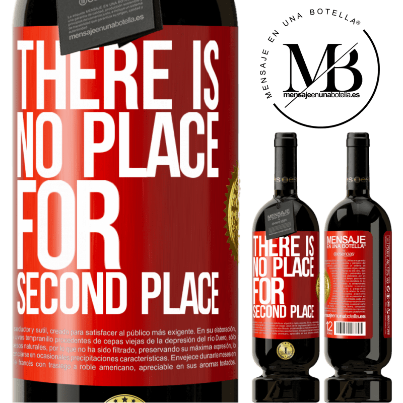 29,95 € Free Shipping | Red Wine Premium Edition MBS® Reserva There is no place for second place Red Label. Customizable label Reserva 12 Months Harvest 2013 Tempranillo