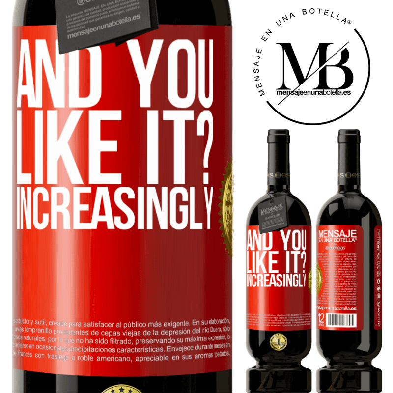 29,95 € Free Shipping | Red Wine Premium Edition MBS® Reserva and you like it? Increasingly Red Label. Customizable label Reserva 12 Months Harvest 2013 Tempranillo