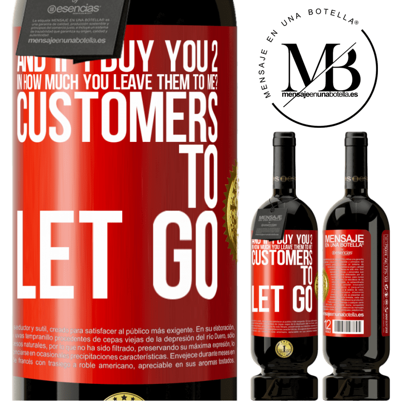 29,95 € Free Shipping | Red Wine Premium Edition MBS® Reserva and if I buy you 2 in how much you leave them to me? Customers to let go Red Label. Customizable label Reserva 12 Months Harvest 2013 Tempranillo