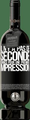 29,95 € Envoi gratuit | Vin rouge Édition Premium MBS® Reserva Il n'y a pas de seconde chance pour une première impression Étiquette Noire. Étiquette personnalisable Reserva 12 Mois Récolte 2013 Tempranillo