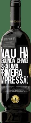 29,95 € Envio grátis | Vinho tinto Edição Premium MBS® Reserva Não há segunda chance para uma primeira impressão Etiqueta Preta. Etiqueta personalizável Reserva 12 Meses Colheita 2013 Tempranillo