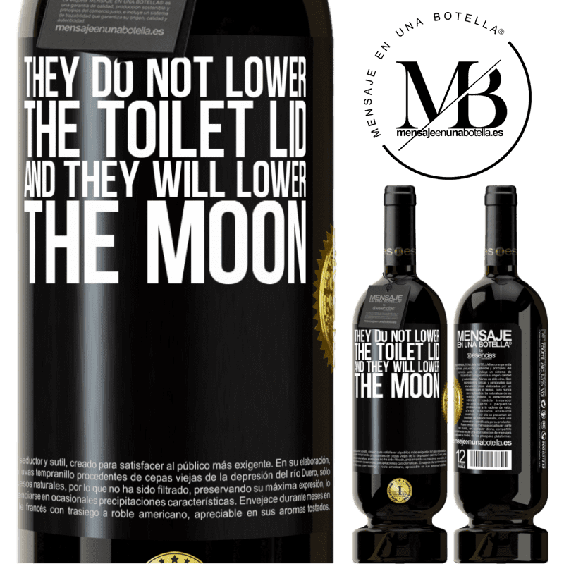 29,95 € Free Shipping | Red Wine Premium Edition MBS® Reserva They do not lower the toilet lid and they will lower the moon Black Label. Customizable label Reserva 12 Months Harvest 2013 Tempranillo