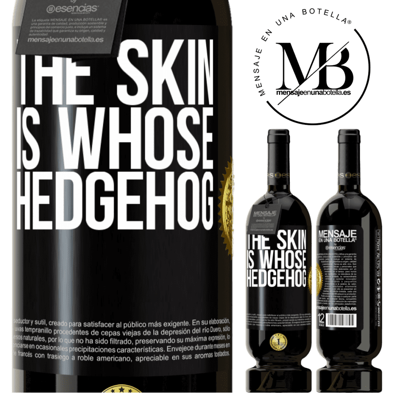 29,95 € Free Shipping | Red Wine Premium Edition MBS® Reserva The skin is whose hedgehog Black Label. Customizable label Reserva 12 Months Harvest 2013 Tempranillo