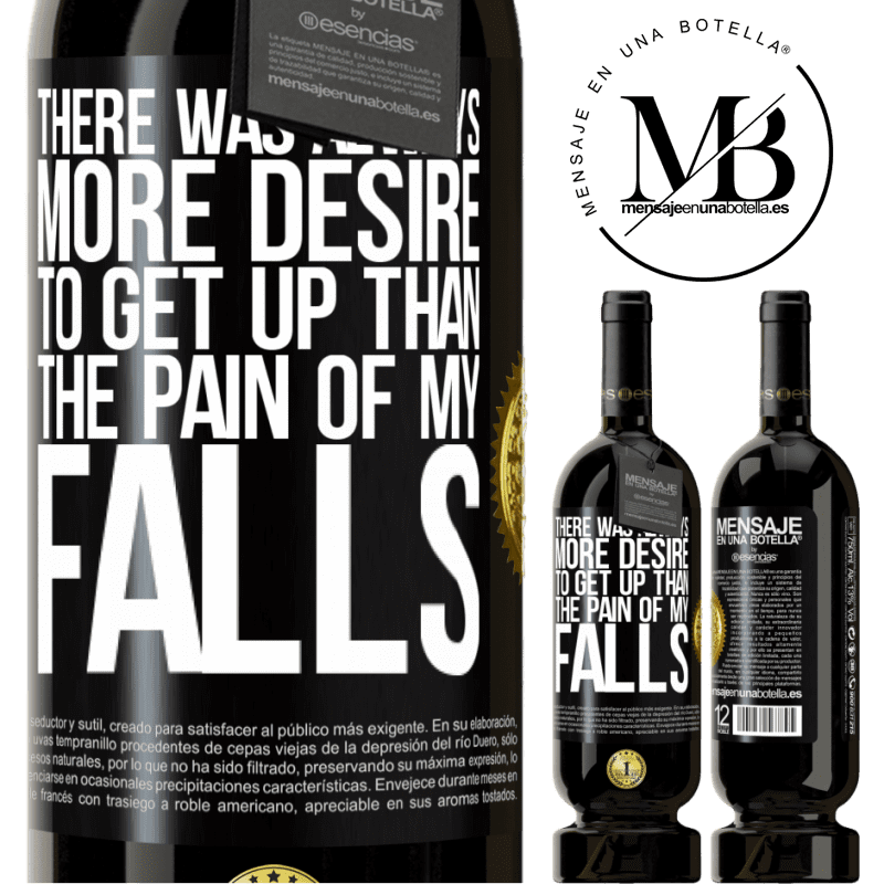 29,95 € Free Shipping | Red Wine Premium Edition MBS® Reserva There was always more desire to get up than the pain of my falls Black Label. Customizable label Reserva 12 Months Harvest 2013 Tempranillo