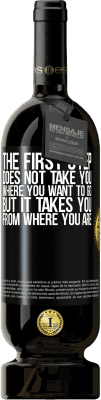 29,95 € Free Shipping | Red Wine Premium Edition MBS® Reserva The first step does not take you where you want to go, but it takes you from where you are Black Label. Customizable label Reserva 12 Months Harvest 2013 Tempranillo
