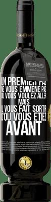 29,95 € Envoi gratuit | Vin rouge Édition Premium MBS® Reserva La première étape ne vous emmène pas où vous voulez aller, mais elle vous mène d'où vous êtes Étiquette Noire. Étiquette personnalisable Reserva 12 Mois Récolte 2013 Tempranillo