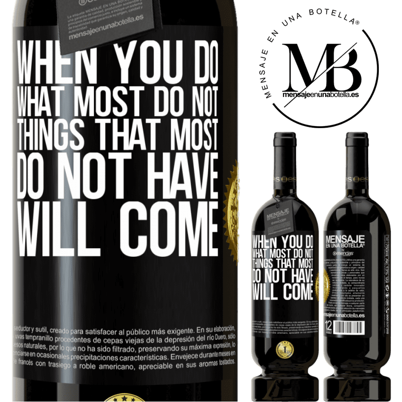 29,95 € Free Shipping | Red Wine Premium Edition MBS® Reserva When you do what most do not, things that most do not have will come Black Label. Customizable label Reserva 12 Months Harvest 2013 Tempranillo