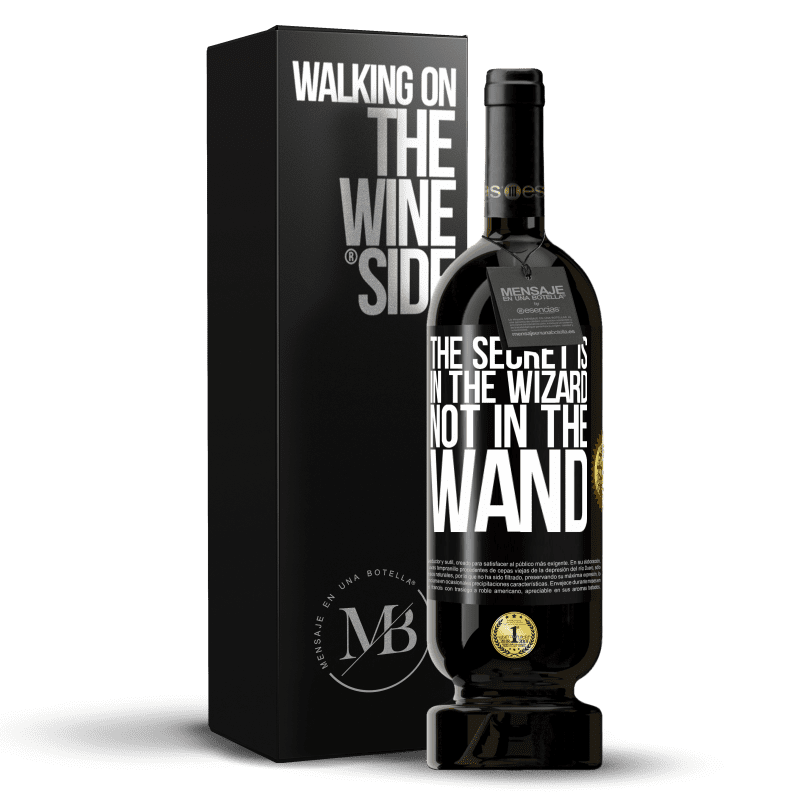 29,95 € Free Shipping | Red Wine Premium Edition MBS® Reserva The secret is in the wizard, not in the wand Black Label. Customizable label Reserva 12 Months Harvest 2013 Tempranillo