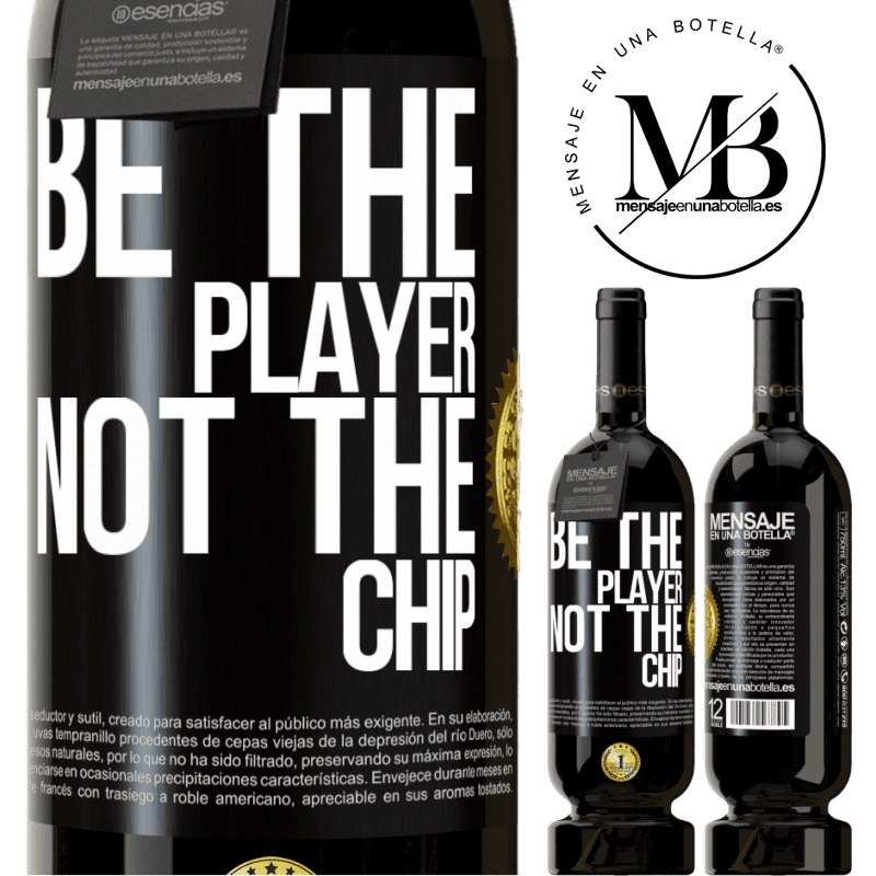 29,95 € Free Shipping | Red Wine Premium Edition MBS® Reserva Be the player, not the chip Black Label. Customizable label Reserva 12 Months Harvest 2013 Tempranillo