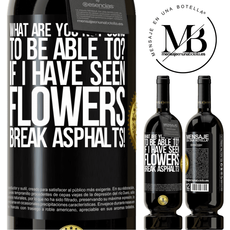 29,95 € Free Shipping | Red Wine Premium Edition MBS® Reserva what are you not going to be able to? If I have seen flowers break asphalts! Black Label. Customizable label Reserva 12 Months Harvest 2013 Tempranillo