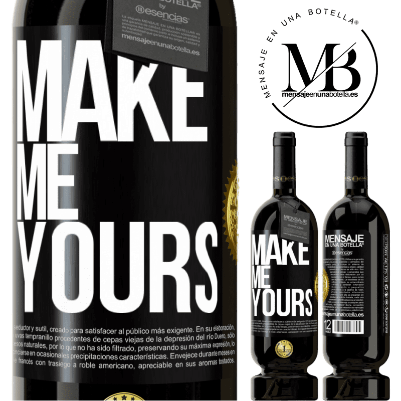 29,95 € Free Shipping | Red Wine Premium Edition MBS® Reserva Make me yours Black Label. Customizable label Reserva 12 Months Harvest 2013 Tempranillo