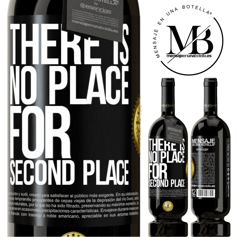 29,95 € Free Shipping | Red Wine Premium Edition MBS® Reserva There is no place for second place Black Label. Customizable label Reserva 12 Months Harvest 2013 Tempranillo