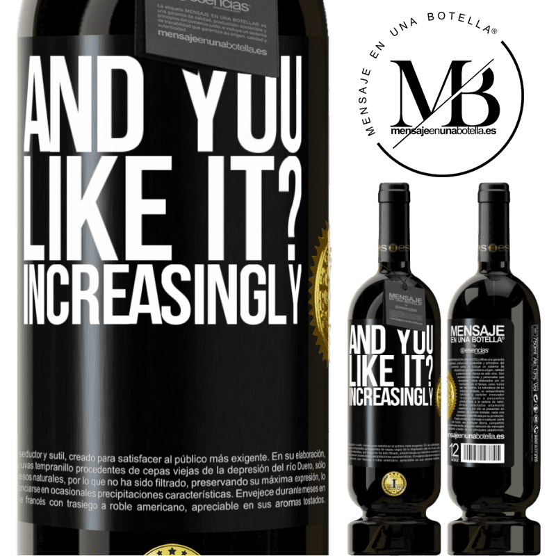 29,95 € Free Shipping | Red Wine Premium Edition MBS® Reserva and you like it? Increasingly Black Label. Customizable label Reserva 12 Months Harvest 2013 Tempranillo