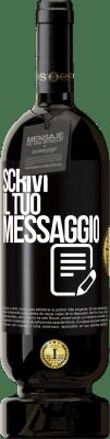 29,95 € Spedizione Gratuita   Vino rosso Edizione Premium MBS® Reserva Scrivi il tuo messaggio Etichetta Nera. Etichetta personalizzabile Reserva 12 Mesi Raccogliere 2013 Tempranillo
