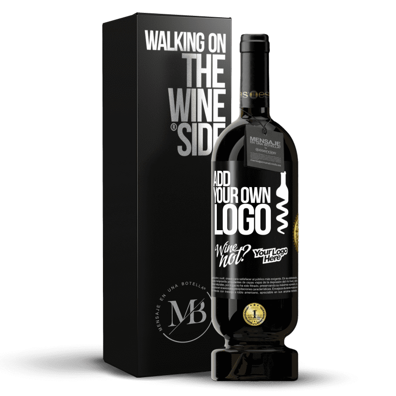 29,95 € Free Shipping | Red Wine Premium Edition MBS® Reserva Add your own logo Black Label. Customizable label Reserva 12 Months Harvest 2013 Tempranillo