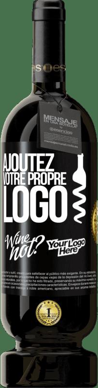 29,95 € Envoi gratuit | Vin rouge Édition Premium MBS® Reserva Ajoutez votre propre logo Étiquette Noire. Étiquette personnalisable Reserva 12 Mois Récolte 2013 Tempranillo