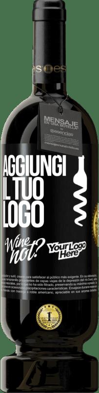 29,95 € Spedizione Gratuita | Vino rosso Edizione Premium MBS® Reserva Aggiungi il tuo logo Etichetta Nera. Etichetta personalizzabile Reserva 12 Mesi Raccogliere 2013 Tempranillo