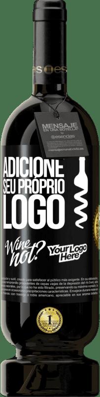 29,95 € Envio grátis | Vinho tinto Edição Premium MBS® Reserva Adicione seu próprio logo Etiqueta Preta. Etiqueta personalizável Reserva 12 Meses Colheita 2013 Tempranillo