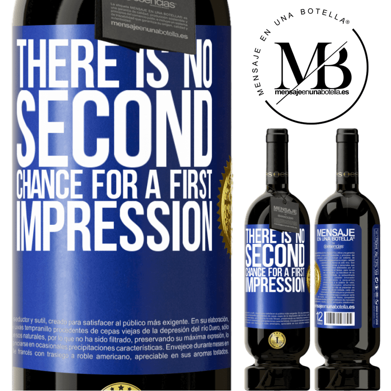 29,95 € Free Shipping   Red Wine Premium Edition MBS® Reserva There is no second chance for a first impression Blue Label. Customizable label Reserva 12 Months Harvest 2013 Tempranillo