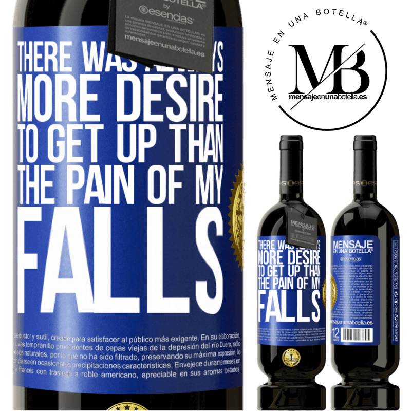 29,95 € Free Shipping | Red Wine Premium Edition MBS® Reserva There was always more desire to get up than the pain of my falls Blue Label. Customizable label Reserva 12 Months Harvest 2013 Tempranillo