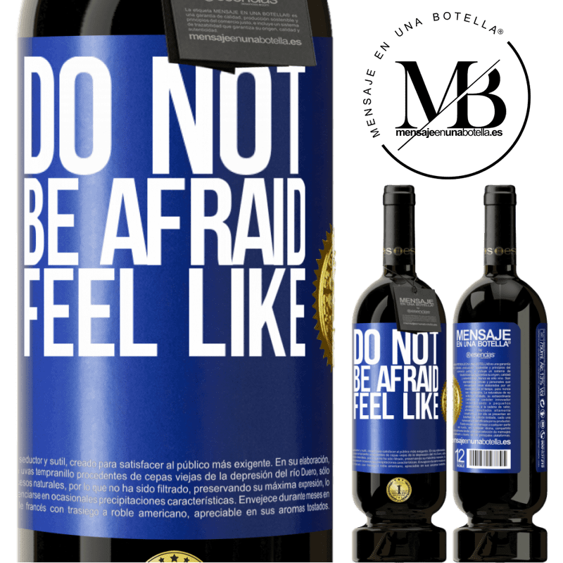 29,95 € Free Shipping | Red Wine Premium Edition MBS® Reserva Do not be afraid. Feel like Blue Label. Customizable label Reserva 12 Months Harvest 2013 Tempranillo