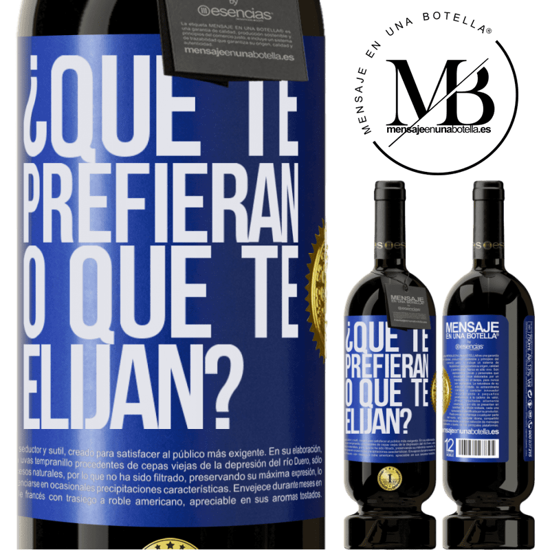 29,95 € Envoi gratuit   Vin rouge Édition Premium MBS® Reserva lequel préférez-vous ou qui vous choisit? Étiquette Bleue. Étiquette personnalisable Reserva 12 Mois Récolte 2013 Tempranillo