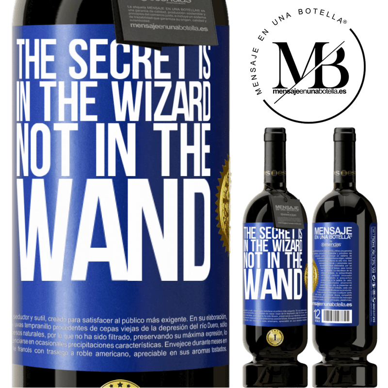 29,95 € Free Shipping | Red Wine Premium Edition MBS® Reserva The secret is in the wizard, not in the wand Blue Label. Customizable label Reserva 12 Months Harvest 2013 Tempranillo