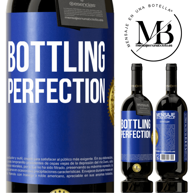 29,95 € Free Shipping | Red Wine Premium Edition MBS® Reserva Bottling perfection Blue Label. Customizable label Reserva 12 Months Harvest 2013 Tempranillo