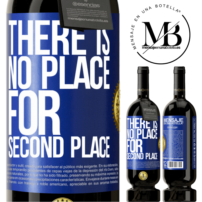 29,95 € Free Shipping | Red Wine Premium Edition MBS® Reserva There is no place for second place Blue Label. Customizable label Reserva 12 Months Harvest 2013 Tempranillo