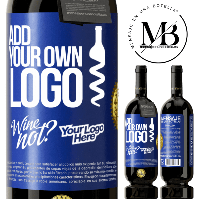 29,95 € Free Shipping | Red Wine Premium Edition MBS® Reserva Add your own logo Blue Label. Customizable label Reserva 12 Months Harvest 2013 Tempranillo