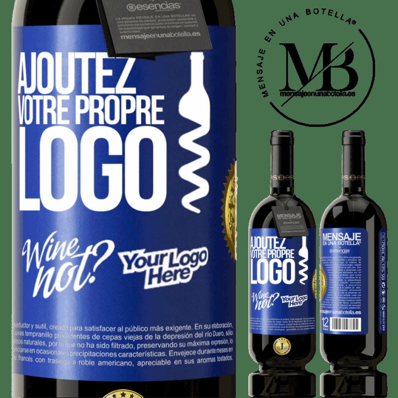 29,95 € Envoi gratuit | Vin rouge Édition Premium MBS® Reserva Ajoutez votre propre logo Étiquette Bleue. Étiquette personnalisable Reserva 12 Mois Récolte 2013 Tempranillo