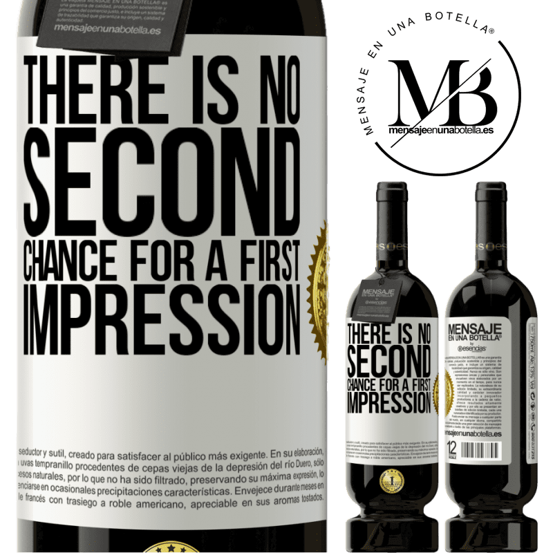 29,95 € Free Shipping   Red Wine Premium Edition MBS® Reserva There is no second chance for a first impression White Label. Customizable label Reserva 12 Months Harvest 2013 Tempranillo