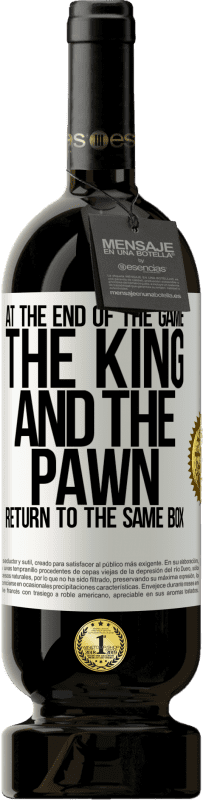29,95 € Free Shipping   Red Wine Premium Edition MBS® Reserva At the end of the game, the king and the pawn return to the same box White Label. Customizable label Reserva 12 Months Harvest 2013 Tempranillo