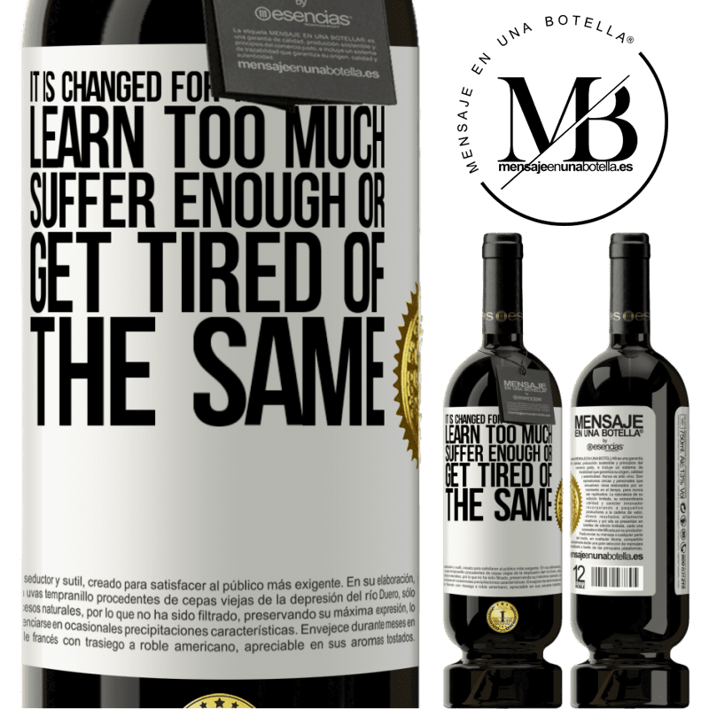 29,95 € Free Shipping | Red Wine Premium Edition MBS® Reserva It is changed for three reasons. Learn too much, suffer enough or get tired of the same White Label. Customizable label Reserva 12 Months Harvest 2013 Tempranillo