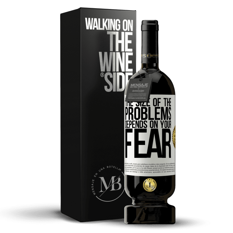 29,95 € Free Shipping | Red Wine Premium Edition MBS® Reserva The size of the problems depends on your fear White Label. Customizable label Reserva 12 Months Harvest 2013 Tempranillo