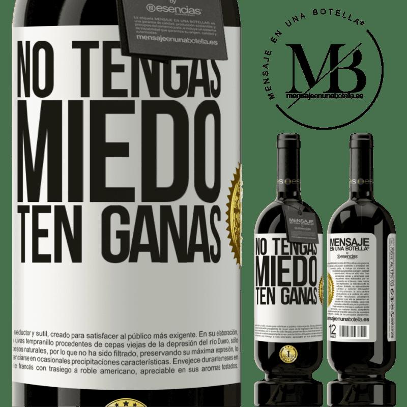 29,95 € Envoi gratuit   Vin rouge Édition Premium MBS® Reserva N'ayez pas peur. Envie Étiquette Blanche. Étiquette personnalisable Reserva 12 Mois Récolte 2013 Tempranillo
