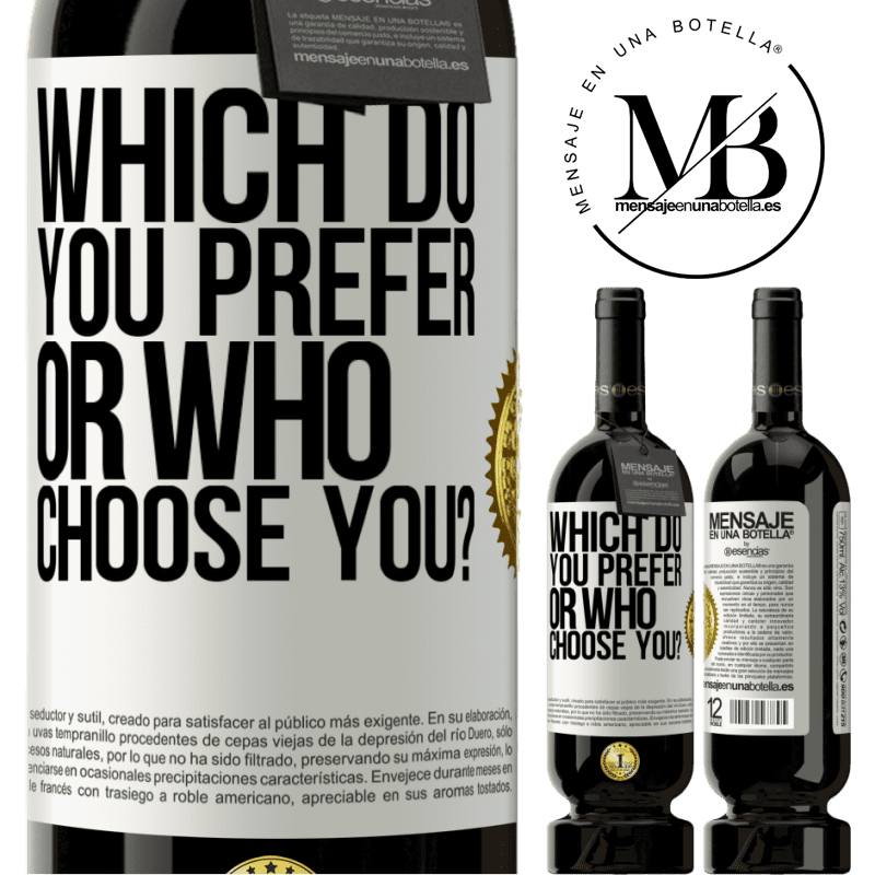 29,95 € Free Shipping | Red Wine Premium Edition MBS® Reserva which do you prefer, or who choose you? White Label. Customizable label Reserva 12 Months Harvest 2013 Tempranillo